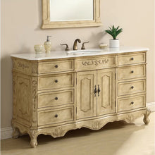 "Load image into Gallery viewer, Sturbridge 60"" Single Bathroom Vanity Set"