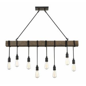 Brodie 8 - Light Kitchen Island Bulb Pendant #653