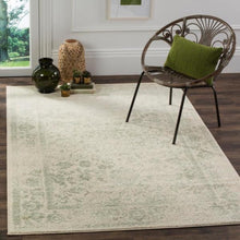 Load image into Gallery viewer, Adirondack Ivory/Sage Area Rug #737