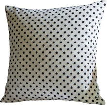 Load image into Gallery viewer, Set of 2 Cotton Polka Dots Throw Pillow #611