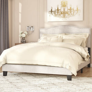 Upholstered Standard Bed #651