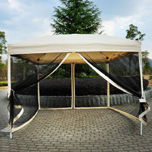 Load image into Gallery viewer, Hartin 10 Ft. W x 10 Ft. D Steel Pop-Up Canopy #575