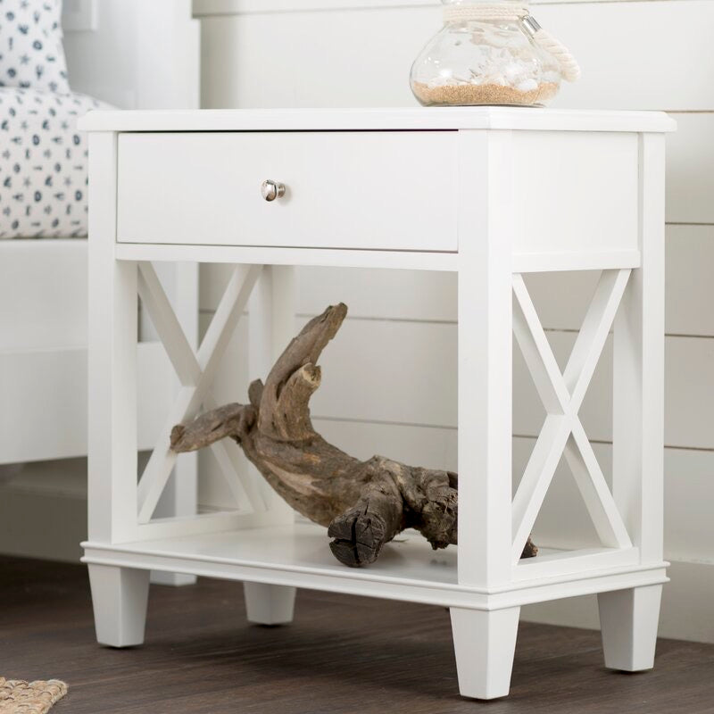 Flintridge End Table with Storage #870