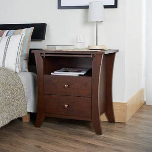 Grove Vintage Walnut Walnut Nightstand 3219