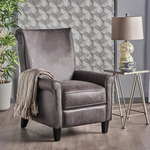Marnie Manual Recliner  (slate)  #5048