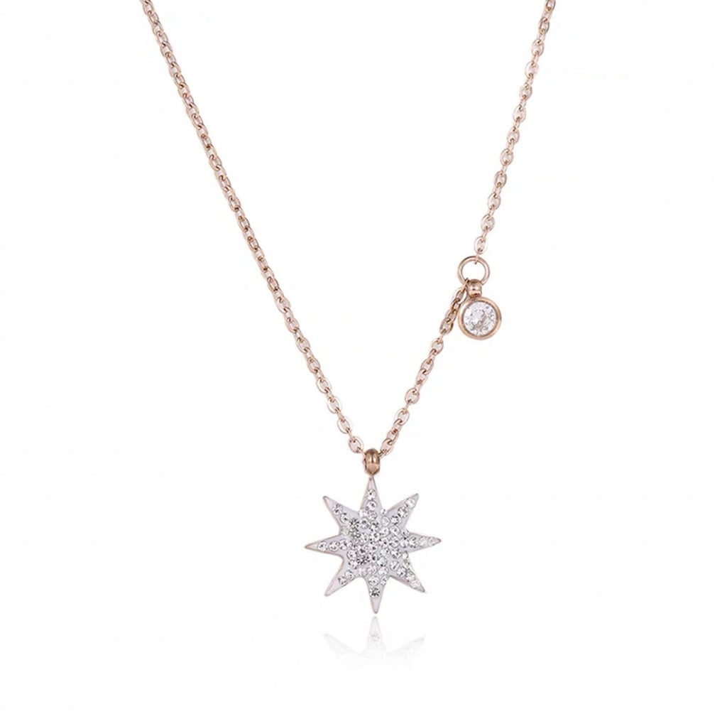Astral Necklace (Silver/Rose Gold)