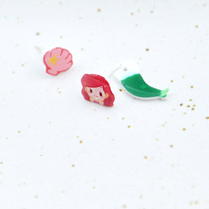 Little Mermaid Ear Studs