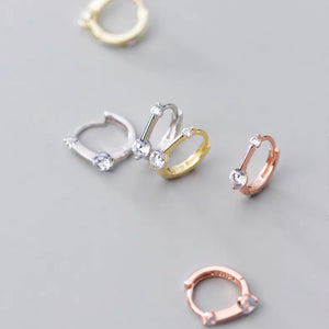 Bar Huggies (Gold/Silver/Rose gold)