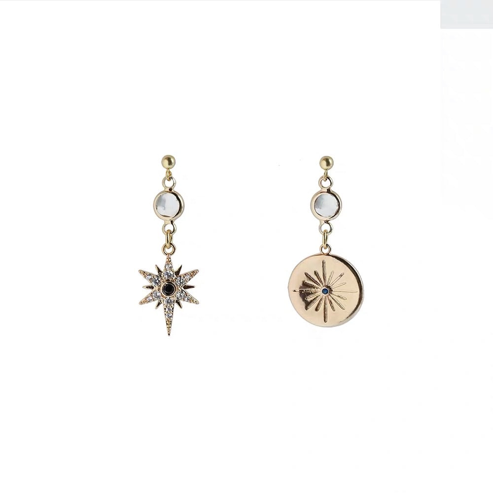 Baroque Retro Gold Earrings