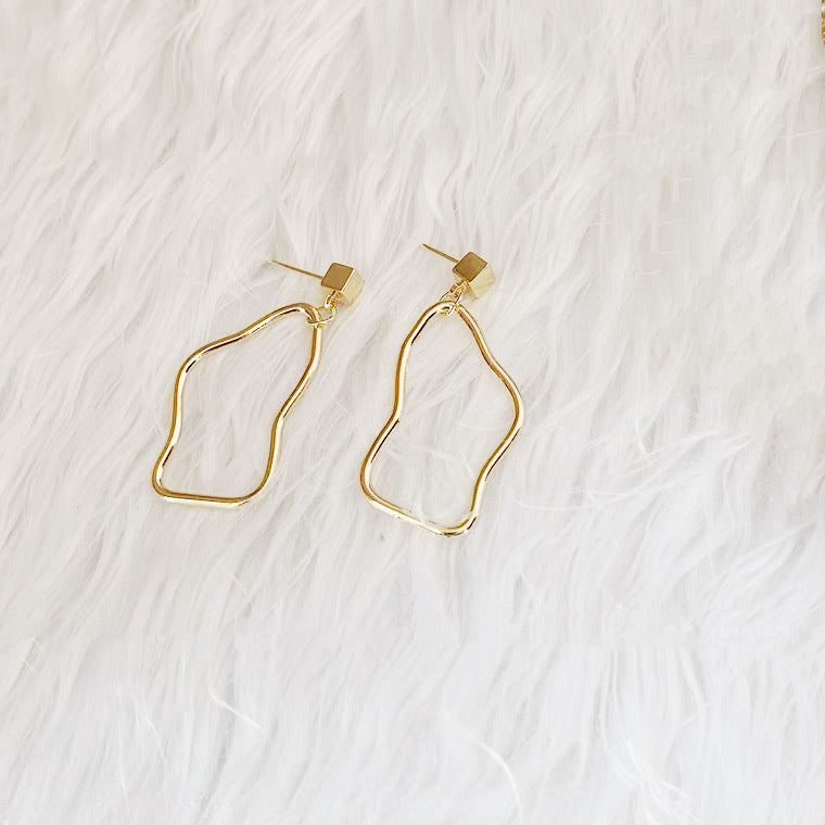 Gold Palette Earrings