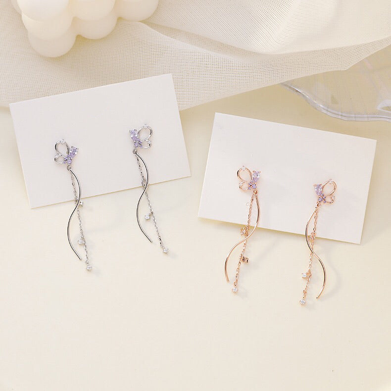 Butterfly Twist Earrings