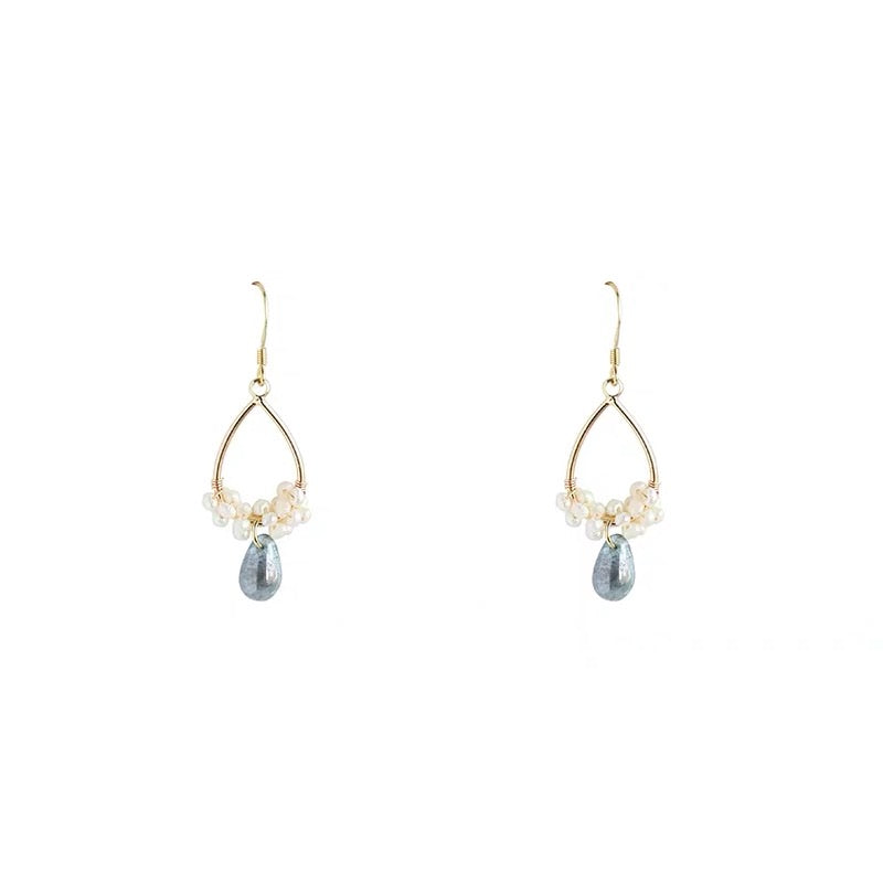Drop of Ocean Earrings