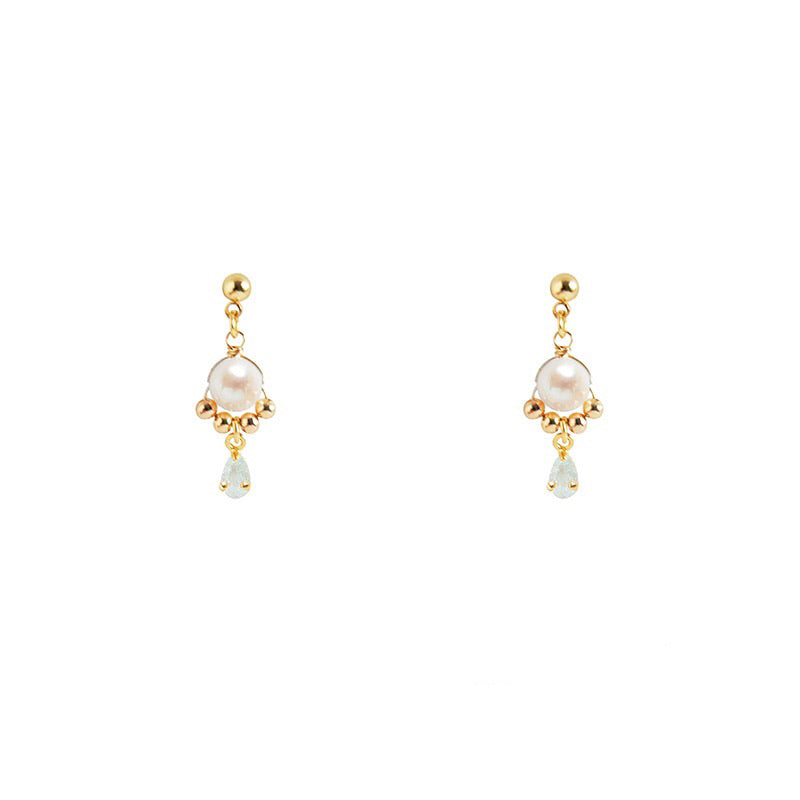 Lucia Pearl Earrings