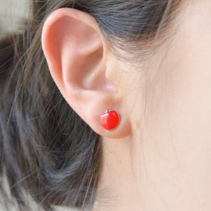Snow White Ear Studs