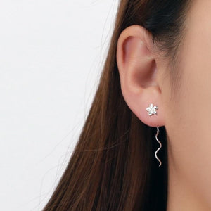 Flower Twirl Earrings