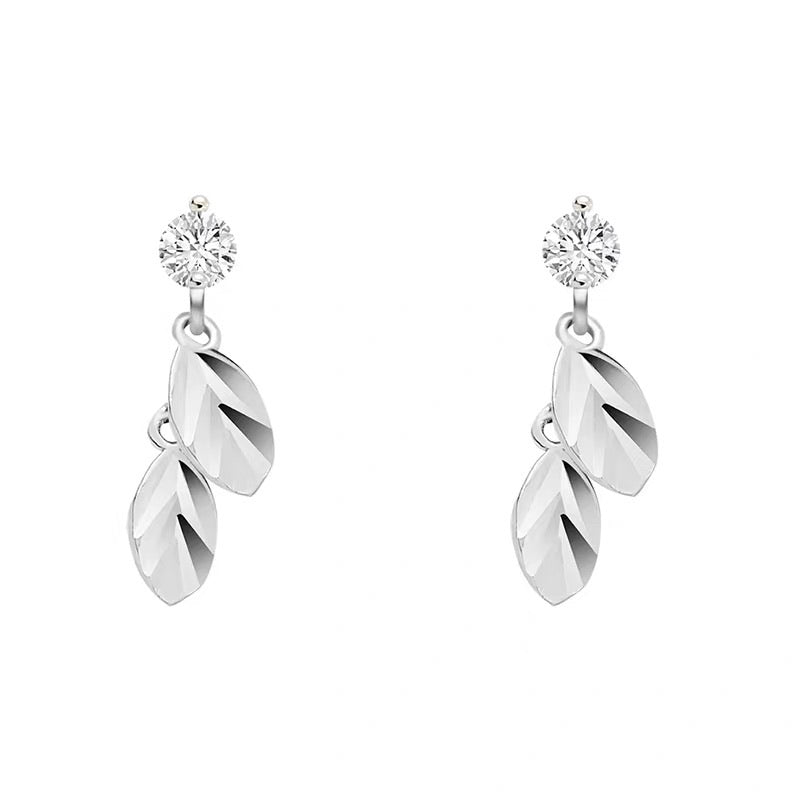 Mini Leaves Earrings (Gold/Silver)