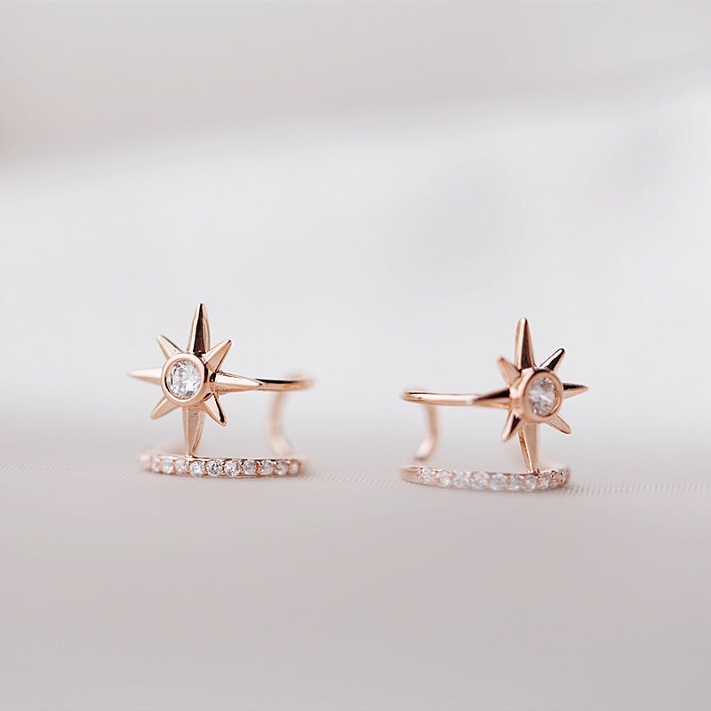 Spark Double Earrings