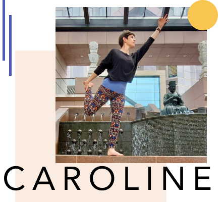 Yoga for Creatives with Caroline Cole