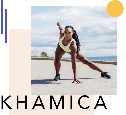 """No Pain No Gain"" with Olympic Athlete Khamica Bingham"