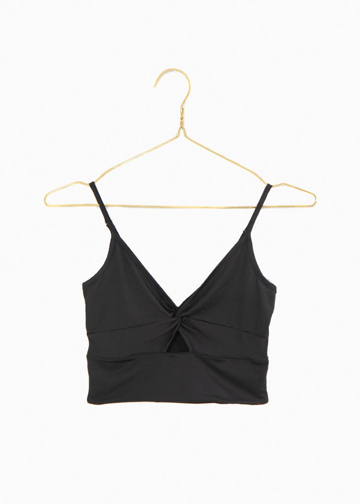 Bra top color negro para mujer flashy