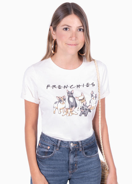 "Camiseta estampada ""Frenchies"" - JAY"