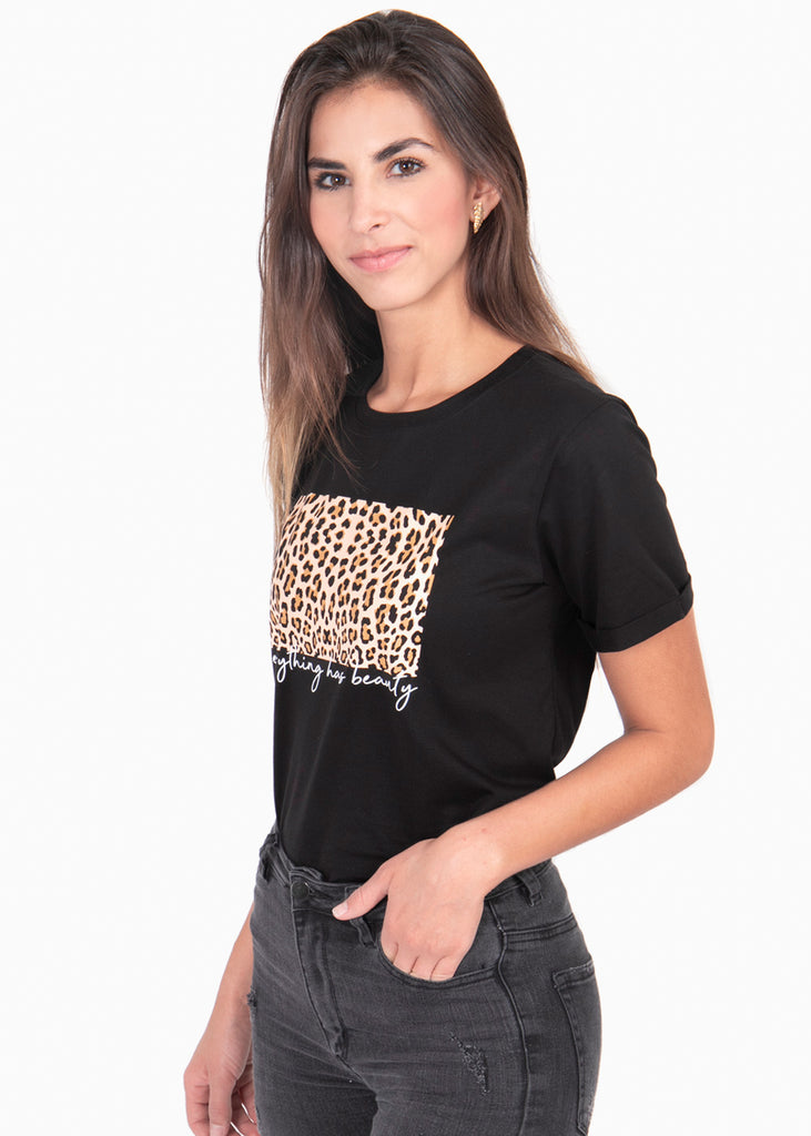 "Camiseta estampada ""Everything Has Beauty"" - CLEMENTINA"