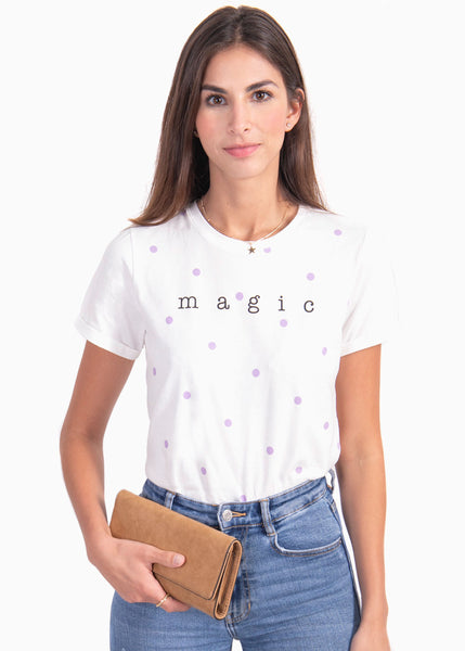 "Camiseta estampada ""Magic"" - EMILIANA"