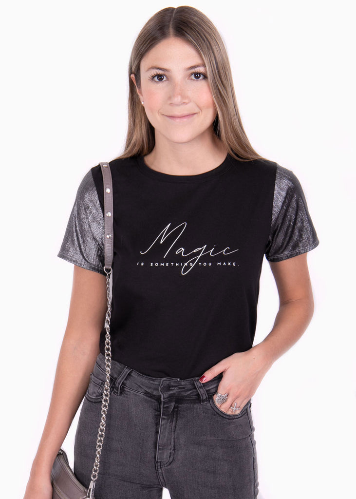 "Camiseta estampada ""Magic"" - CARMELA"
