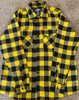 Yellow & Black Outlaw Flannel