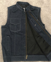 Blue Denim Outlaw Vest