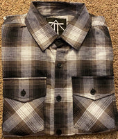 Outlaw Brown Flannel