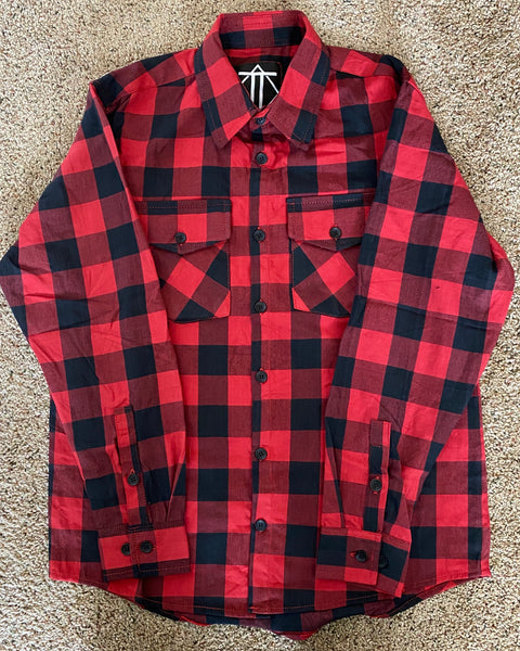 Red & Black Outlaw Flannel