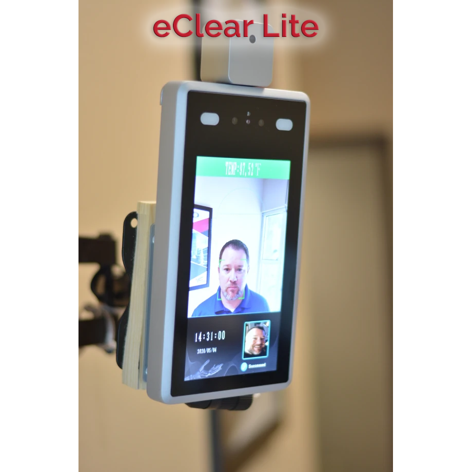eClear Lite - Self Serve Infrared Thermometer Checking For Elevated Temperature