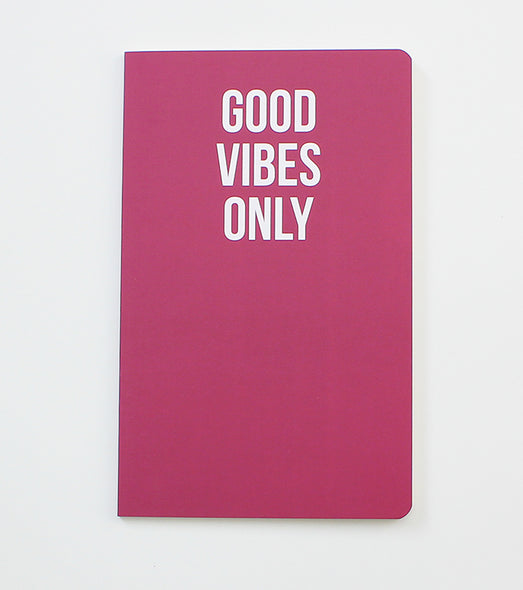 Good Vibes Only - Notebook
