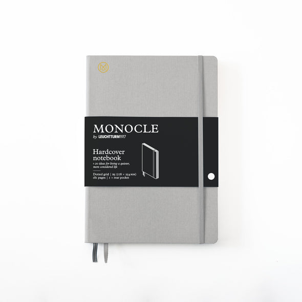 Hardcover Notizbuch B5 Light Grey