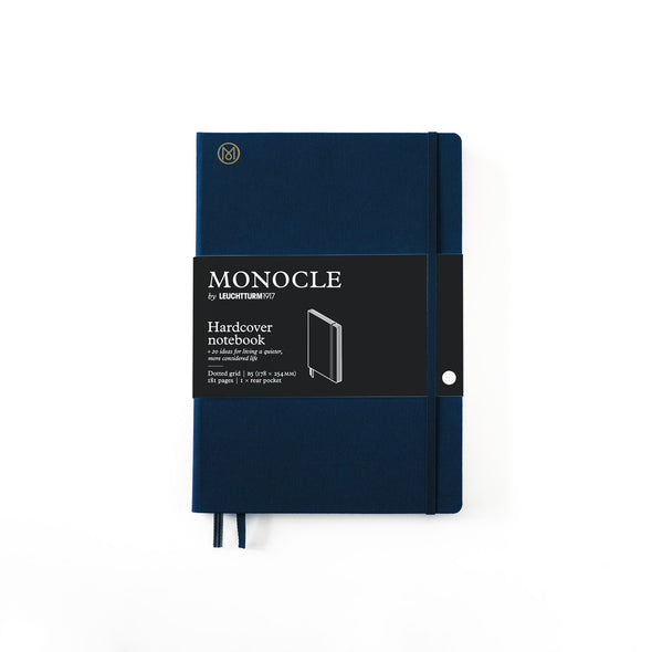 Hardcover Notizbuch B5 Navy