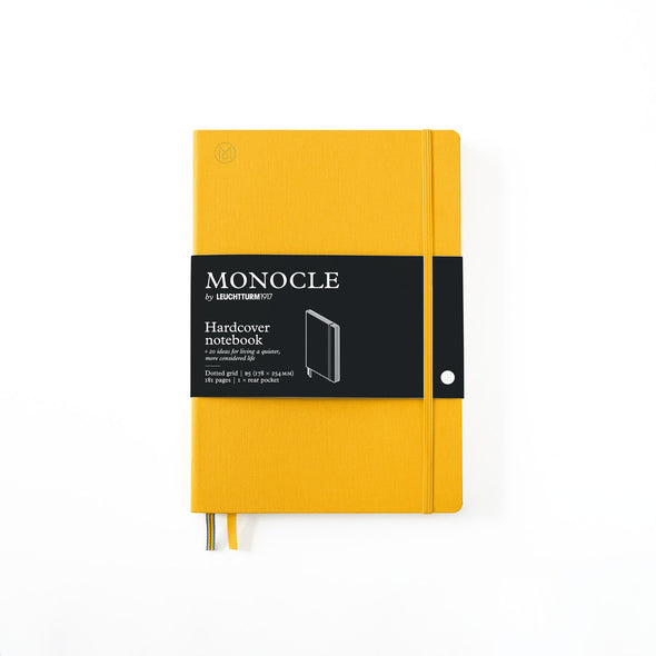 Hardcover Notizbuch B5 Yellow