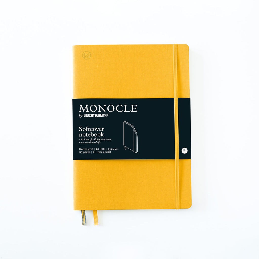 Softcover Notizbuch B5 Yellow
