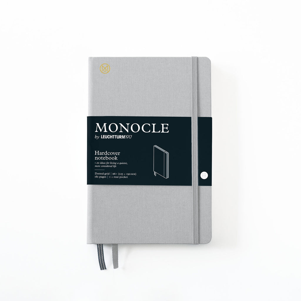 Hardcover Notizbuch B6+ Light Grey