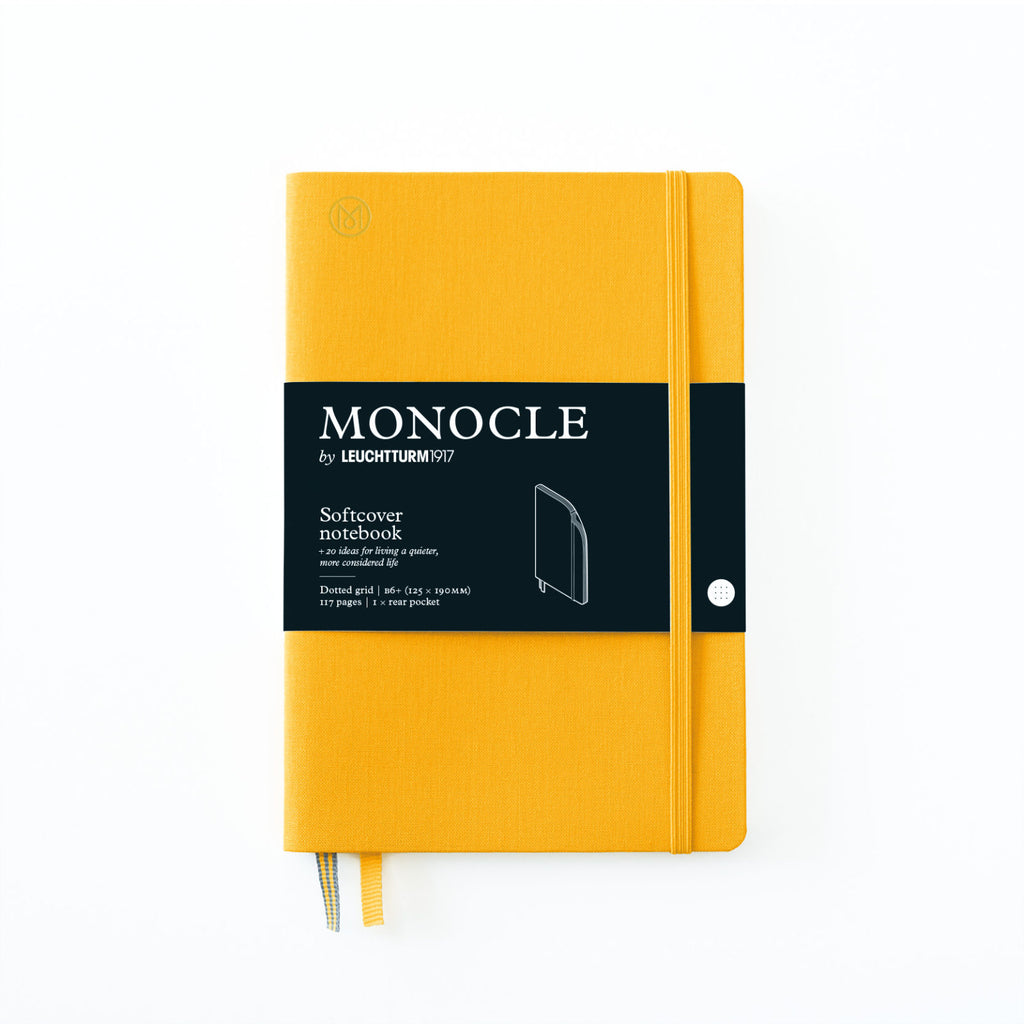 Softcover Notizbuch B6+ Yellow