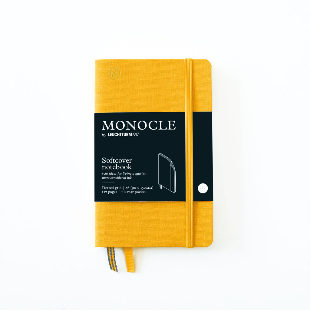 Softcover Notizbuch A6 Yellow