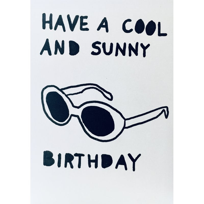 Cool and Sunny Birthday - Card