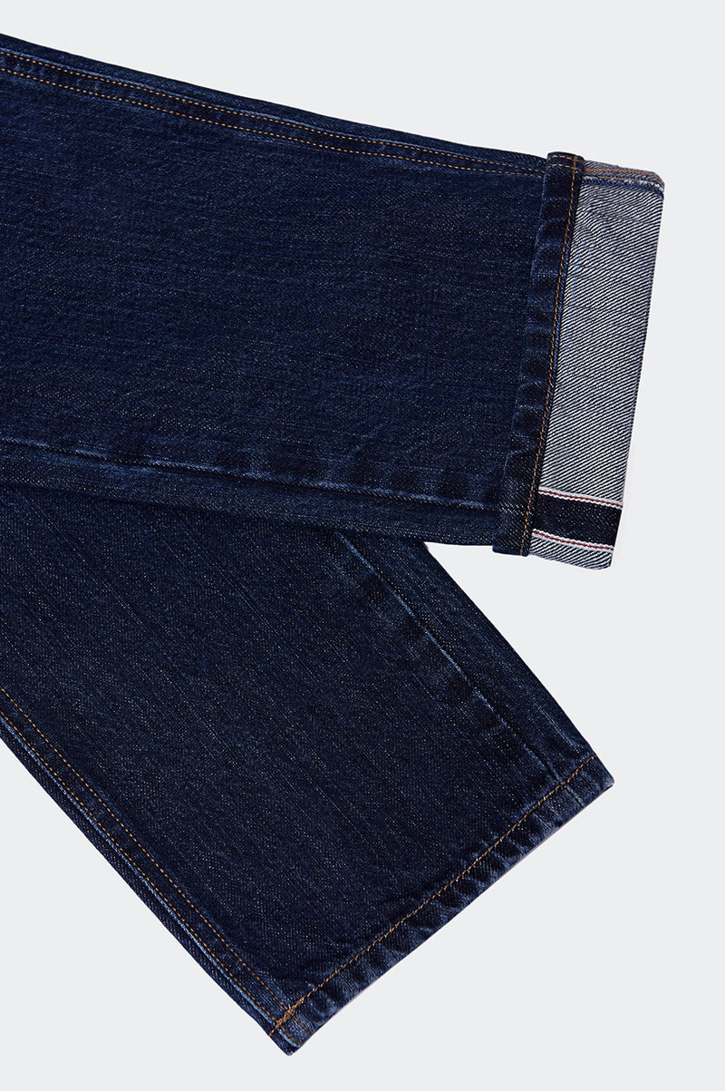Jean Selvedge Stone wash