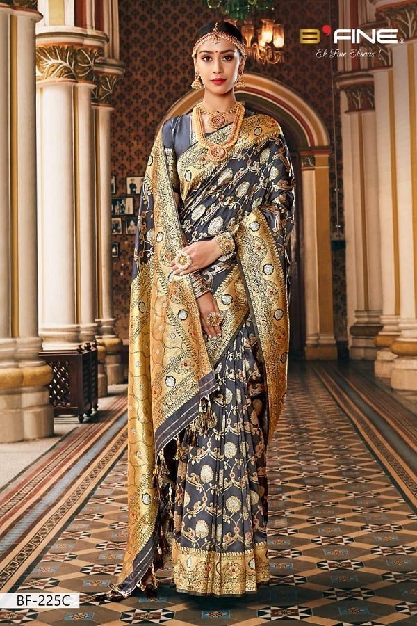 Banarasi Silk Saree - Sherezade Boutique