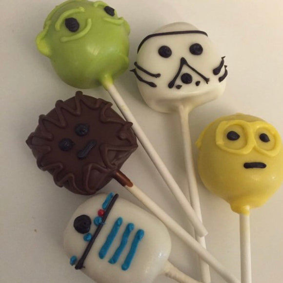 May the Fourth Be With You Cake Pops
