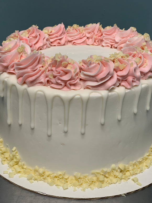 Signature Cake | White Raspberry | Made WITHOUT Gluten