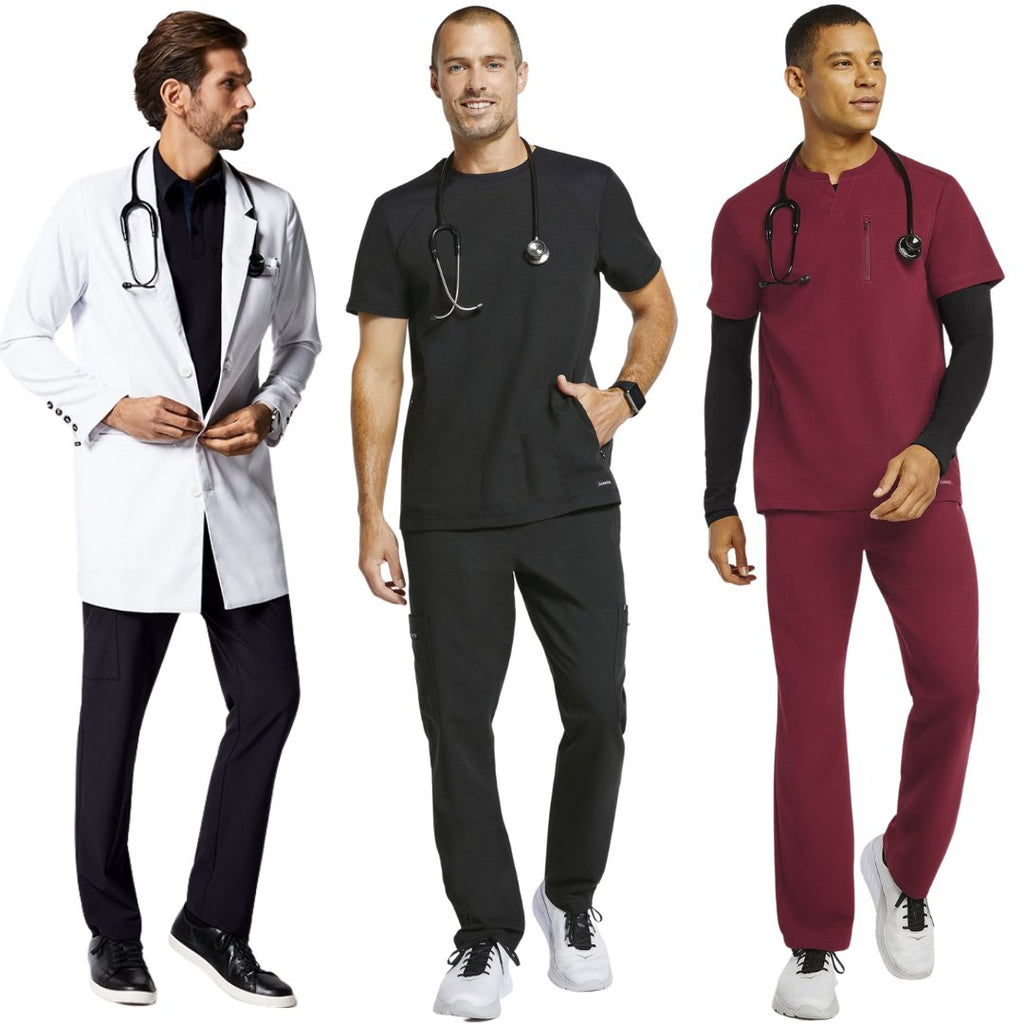 Jaanuu Men's Scrub Sets, Lab Coats & Jackets | scrub-supply.com