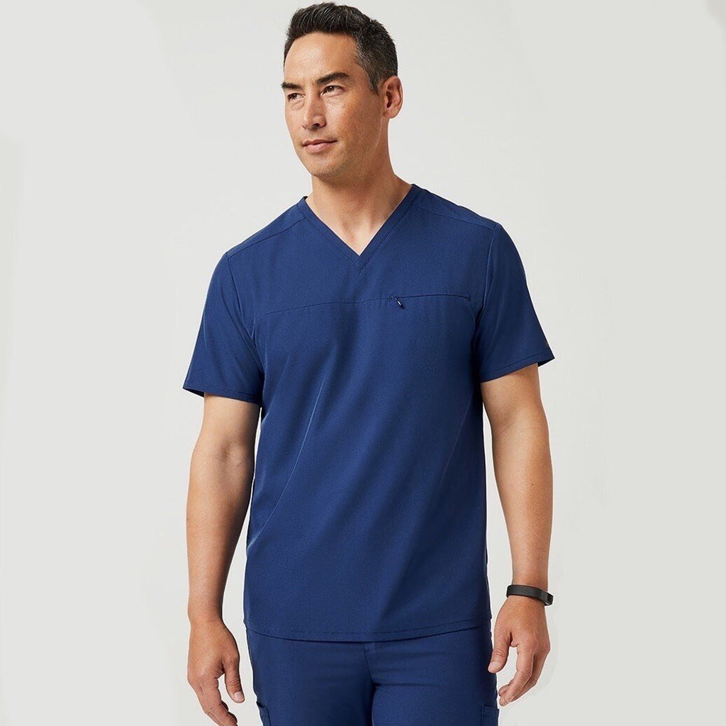 Jaanuu Men's Scrub Tops | scrub-supply.com