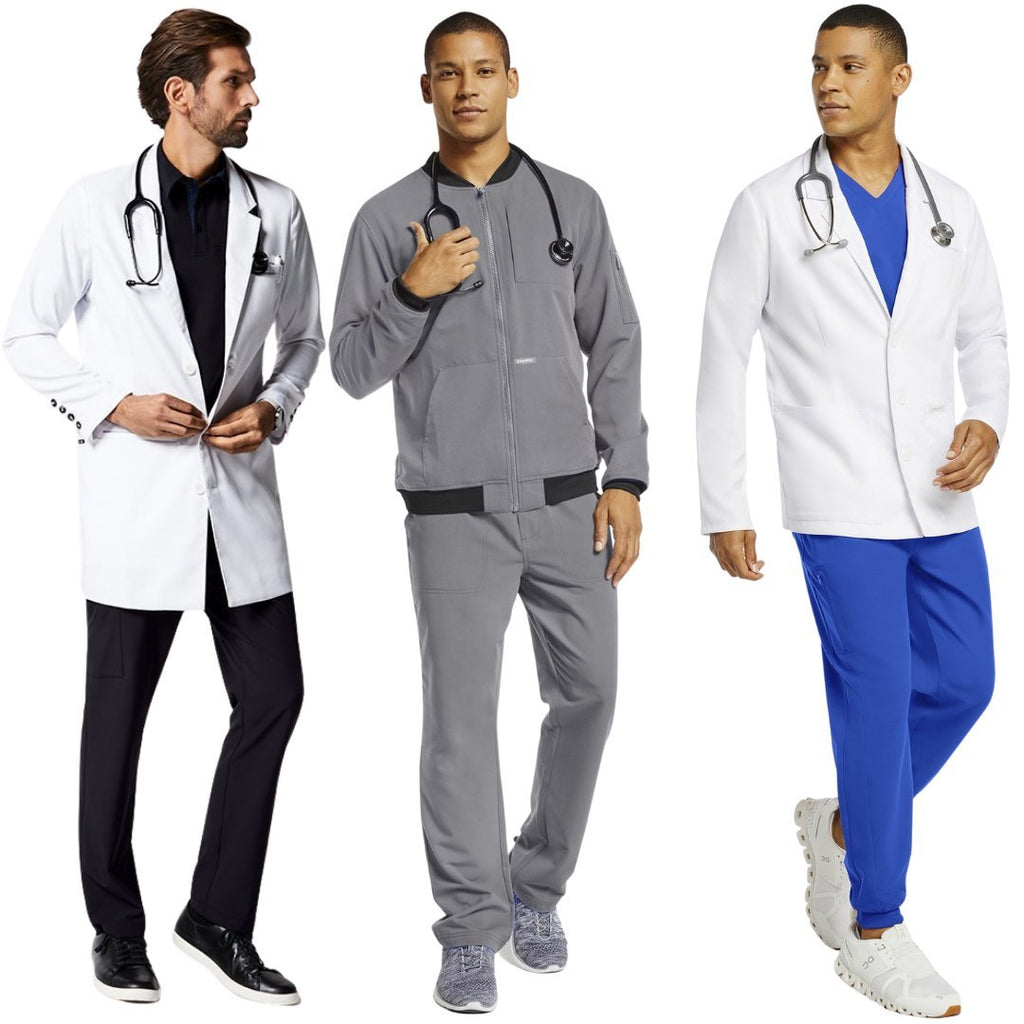 Jaanuu Men's Doctor Coats & Jackets | scrub-supply.com