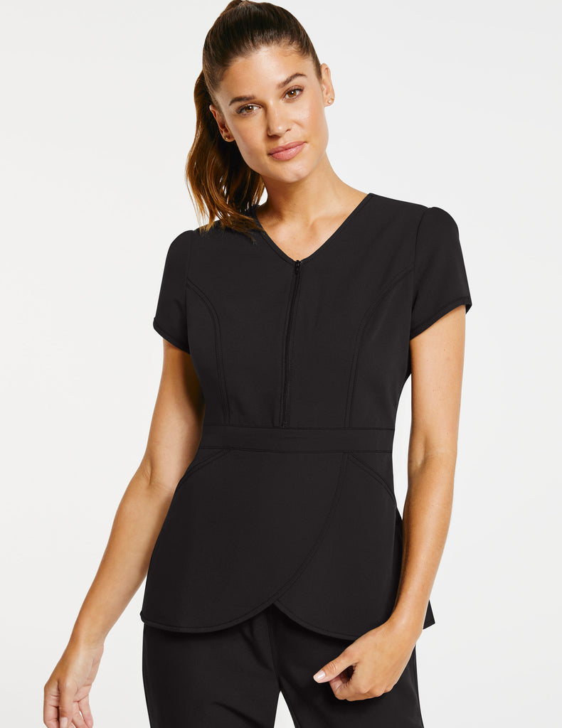 Jaanuu | Women's Signature Tulip Top - Black - 1